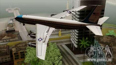 Boeing VC-137 für GTA San Andreas linke Ansicht