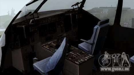 C-17A Globemaster III USAF Mississippi pour GTA San Andreas vue arrière