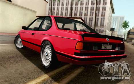 BMW M635CSI E24 1986 V1.0 für GTA San Andreas linke Ansicht