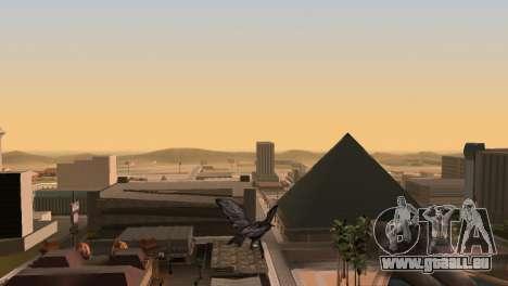 La possibilité de GTA V à jouer pour les oiseaux pour GTA San Andreas quatrième écran