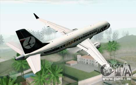 Embraer EMB-175 LOT Polish Airlines 600th E-Jet für GTA San Andreas linke Ansicht