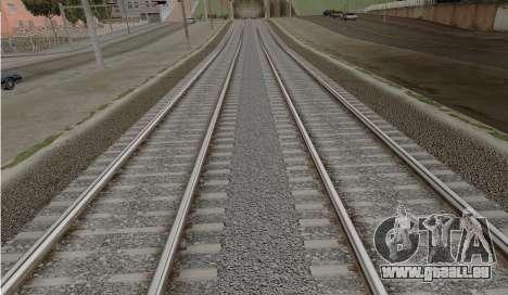 HD Rails de la v3.0 pour GTA San Andreas deuxième écran