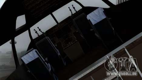 C-17A Globemaster III PAF pour GTA San Andreas vue arrière
