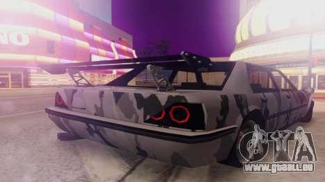 Vincent 3.0 pour GTA San Andreas laissé vue
