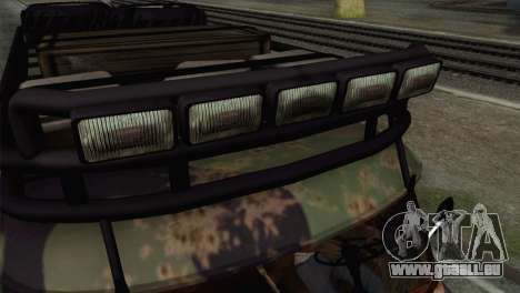 UAZ 2206 Pain pour GTA San Andreas vue de droite