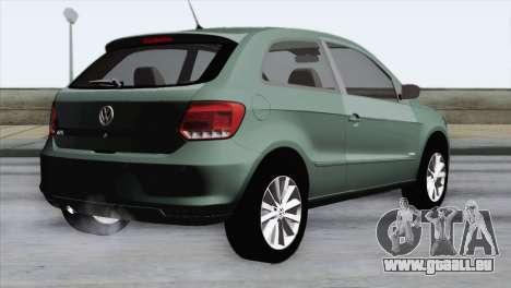 Volkswagen Golf Trend pour GTA San Andreas laissé vue