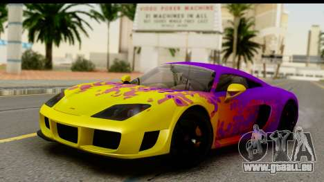 Noble M600 2010 HQLM pour GTA San Andreas salon
