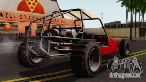 GTA 5 Dune Buggy SA Mobile pour GTA San Andreas laissé vue
