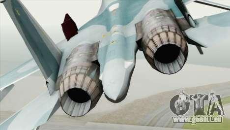 Sukhoi SU-27 PMC Reaper Squadron pour GTA San Andreas vue arrière