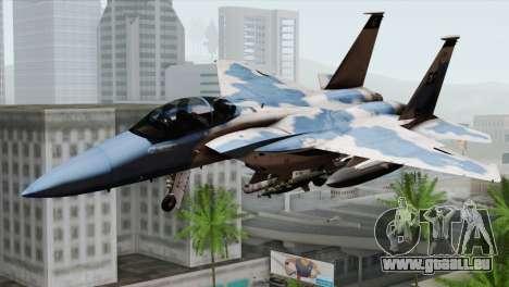 F-15E Artic Blue für GTA San Andreas