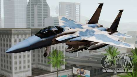 F-15E Artic Blue pour GTA San Andreas
