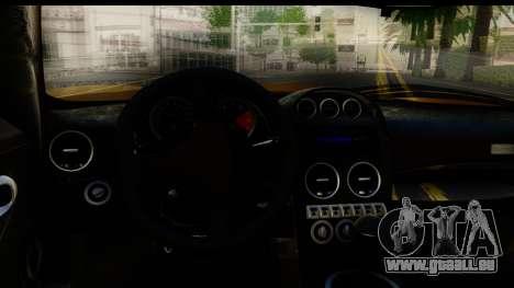 Noble M600 2010 HQLM pour GTA San Andreas vue de côté