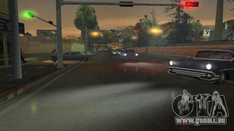 Straße Reflexionen Update 1.0 для GTA San Andrea für GTA San Andreas sechsten Screenshot