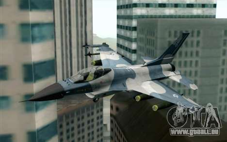 F-16 Osean Air Defense Force für GTA San Andreas