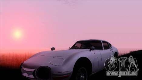 ENB Gamerealfornia v1.00 für GTA San Andreas zweiten Screenshot