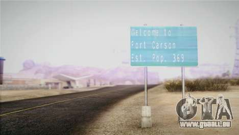 Horizontal ENB 0.076 Medium v1.0 für GTA San Andreas zweiten Screenshot