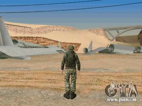 Cine Besondere der Streitkräfte der UdSSR für GTA San Andreas siebten Screenshot