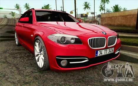 BMW 530d F11 Facelift IVF pour GTA San Andreas