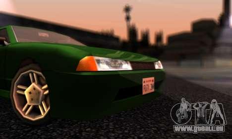 Elegy I Love GS v1.0 für GTA San Andreas linke Ansicht