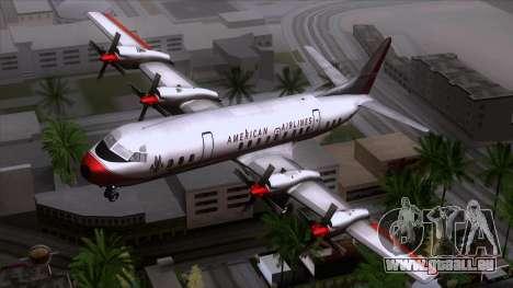 L-188 Electra American Als pour GTA San Andreas