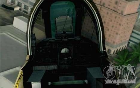 A-10 Desert Camo pour GTA San Andreas vue de droite