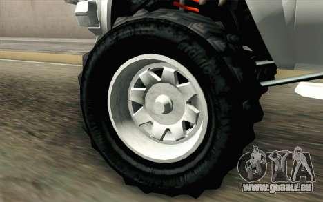 Technical from GTA 5 pour GTA San Andreas sur la vue arrière gauche