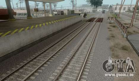 HD Rails de la v3.0 pour GTA San Andreas troisième écran