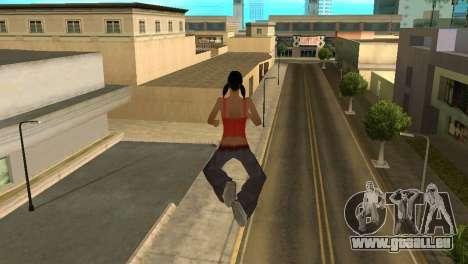 Cleo Fly pour GTA San Andreas deuxième écran