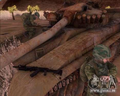 Die Kalaschnikow AK-74M für GTA San Andreas zweiten Screenshot