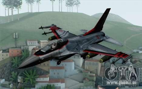 F-16 15th Fighter Squadron Windhover für GTA San Andreas