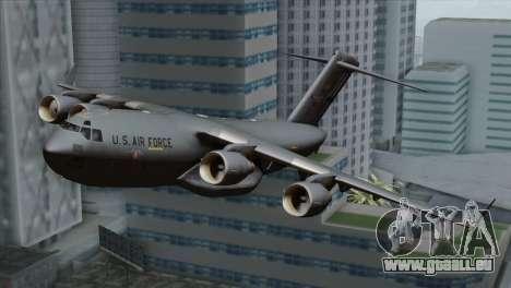 C-17A Globemaster III USAF Mississippi pour GTA San Andreas