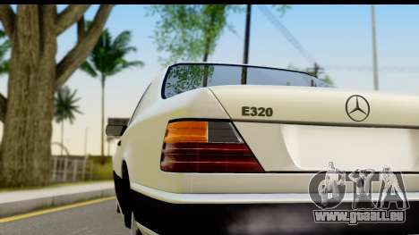 Mercedes Benz E320 W124 Coupe für GTA San Andreas rechten Ansicht
