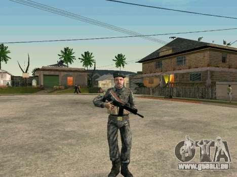 Cine des forces spéciales de l'URSS pour GTA San Andreas quatrième écran