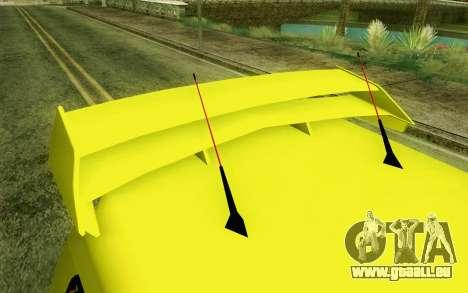 Daihatsu Espass Angkot YRT für GTA San Andreas Rückansicht