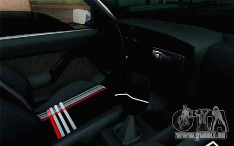 Volkswagen Golf Mk3 Eurolook pour GTA San Andreas vue de droite