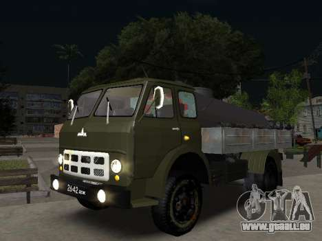 MAZ 503 plombier pour GTA San Andreas