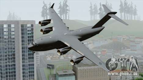 C-17A Globemaster III RAF pour GTA San Andreas