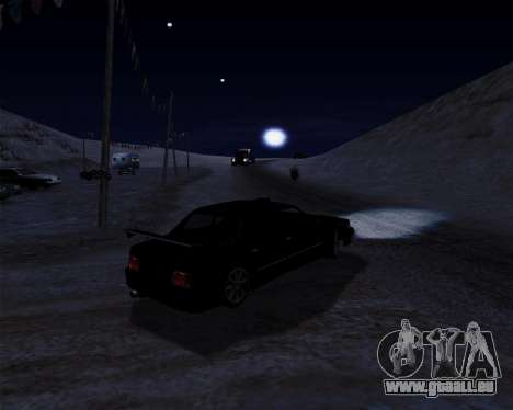 LineFlex ENBseries pour GTA San Andreas cinquième écran