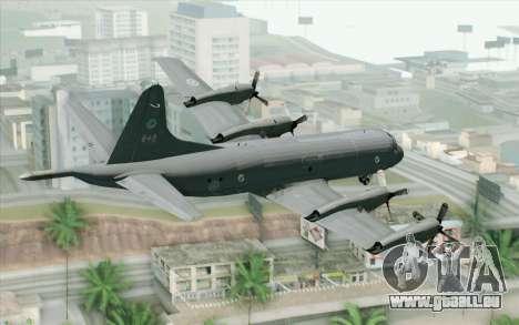Lockheed P-3 Orion RCAF pour GTA San Andreas laissé vue