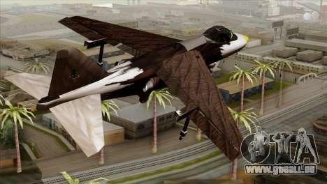 Hydra Eagle für GTA San Andreas linke Ansicht