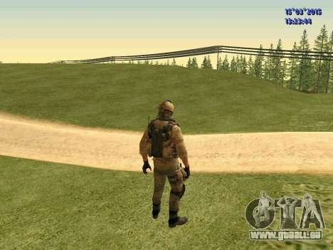 Die Polizisten der Miliz des Donbass für GTA San Andreas dritten Screenshot