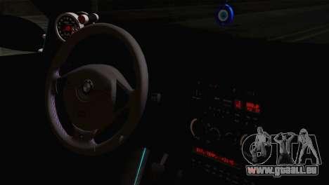 BMW E36 M3 Cabrio für GTA San Andreas rechten Ansicht
