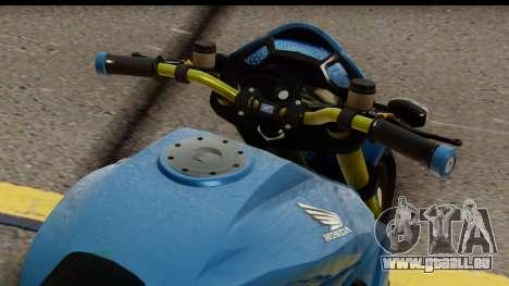 Honda CB1000R v2.0 für GTA San Andreas zurück linke Ansicht