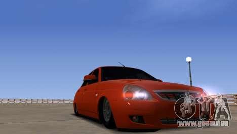 ENB pour les moyennes PC pour GTA San Andreas sixième écran