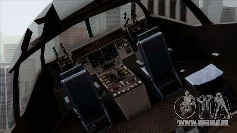 C-17A Globemaster III NATO pour GTA San Andreas vue arrière