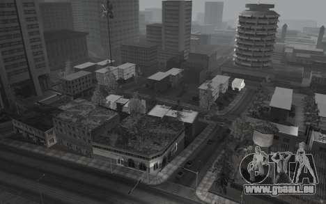 Noir-et-blanc ColorMod pour GTA San Andreas troisième écran