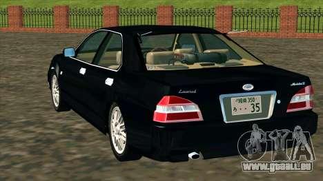 Nissan Laurel GC35 Kouki pour GTA San Andreas sur la vue arrière gauche