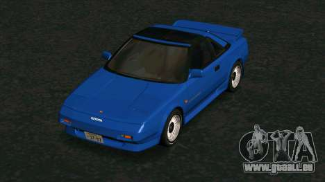 Toyota MR2 1600 G-Limited (AW11) pour GTA San Andreas vue intérieure