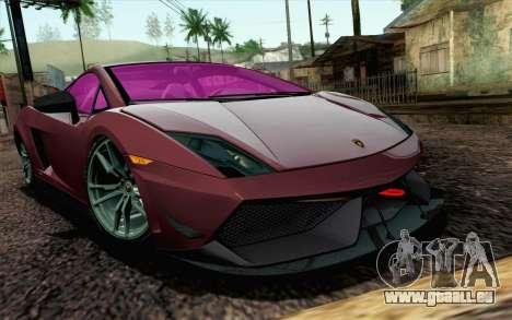 Lamborghini Gallardo LP570-4 Superleggera 2011 für GTA San Andreas