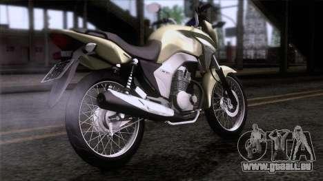 Honda CG Titan 150 2014 für GTA San Andreas linke Ansicht
